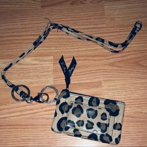 Vera Bradley lanyard & wallet